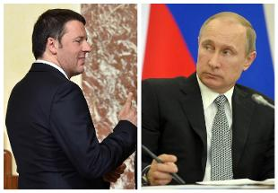 Putin e Renzi si affrontano sulla questione ucraina